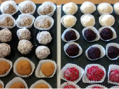 Bliss Balls for Healthy Snacks