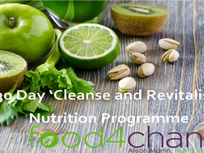 New Year 30 Day 'Cleanse & Revitalise' Nutrition Programme